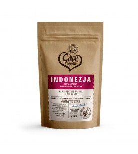 Kawa Indonezja Flores 250g (ziarnista)