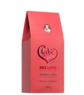 Kawa Cafe Mon Amour Mix Love 250 g (ziarnista)