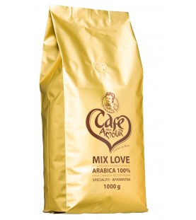 Kawa Cafe Mon Amour Mix Love 1000 g (ziarnista)