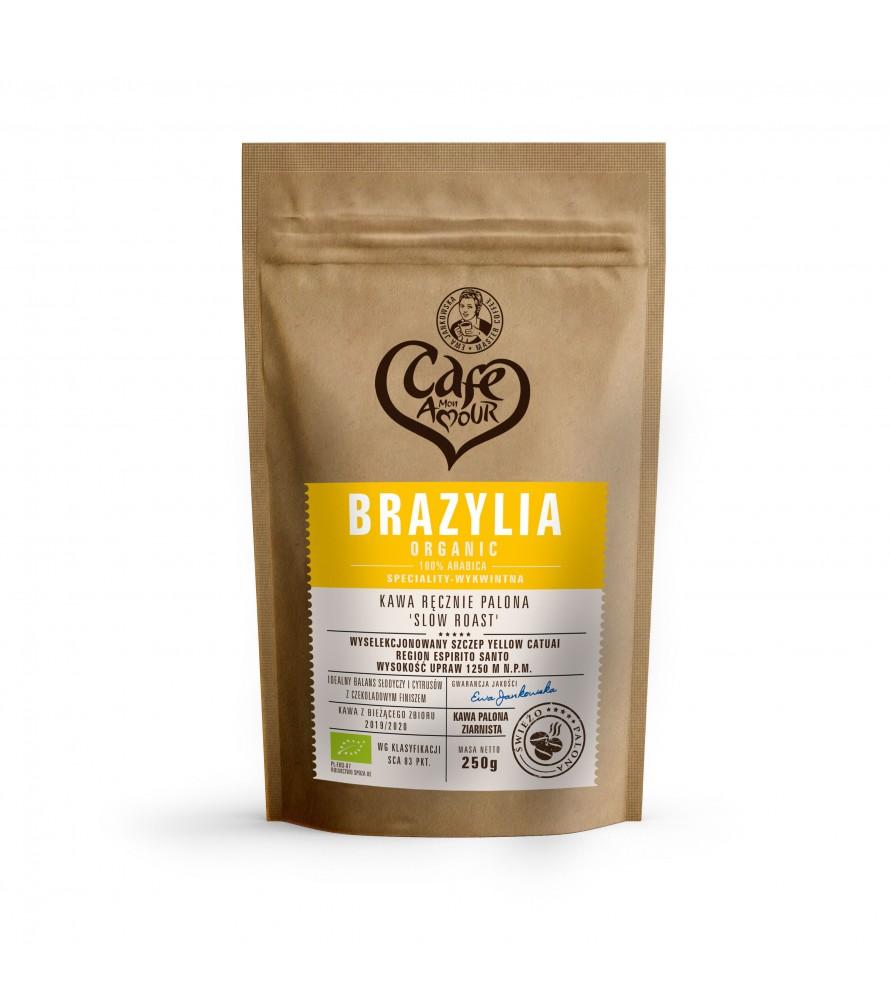 Kawa Brazylia Organic 1000g (Ziarnista)